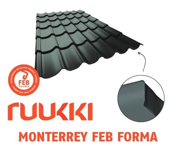 Ruukki Monterrey Feb - 3D окончание листа