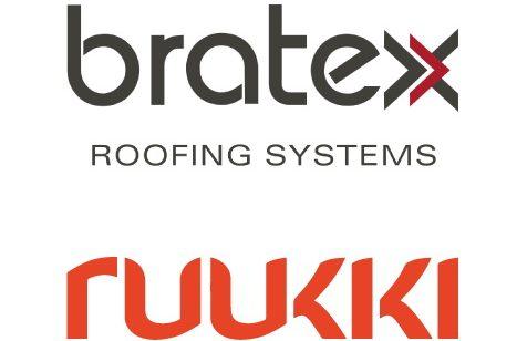 Фото логотипов Bratex и Ruukki
